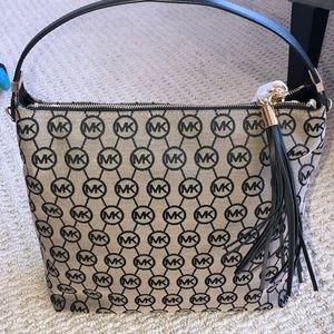 MICHAEL Michael Kors Canvas Shoulder Bag (NWT)